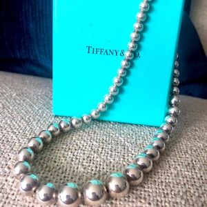 Authentic Tiffany & Co. Silver Necklace